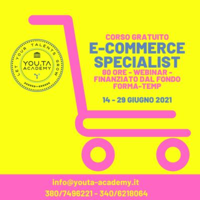 corso gratuito e-commerce specialist
